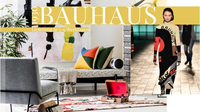 Cleaner Bauhaus-Chic