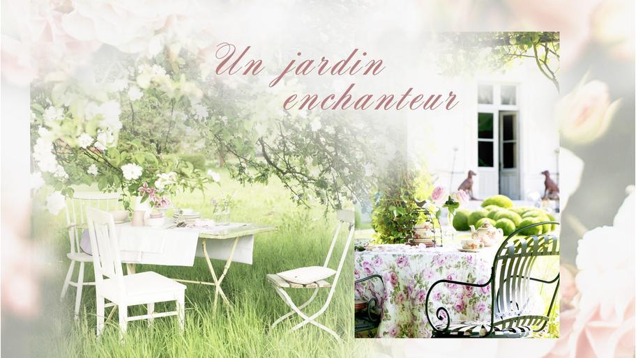 Un jardin enchanteur