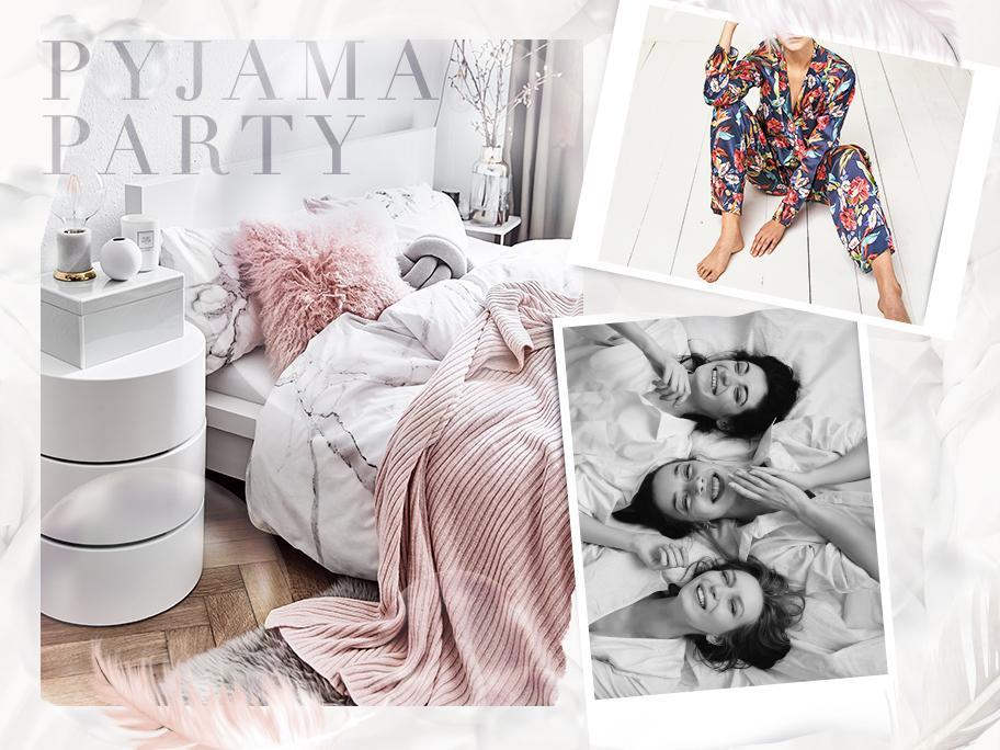 Einladung zur Pyjama-Party!