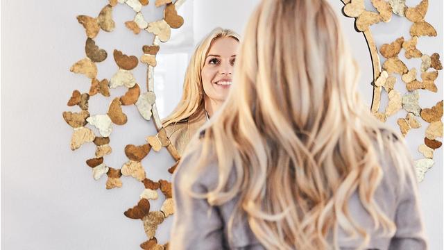 Der Schmetterlings-Spiegel