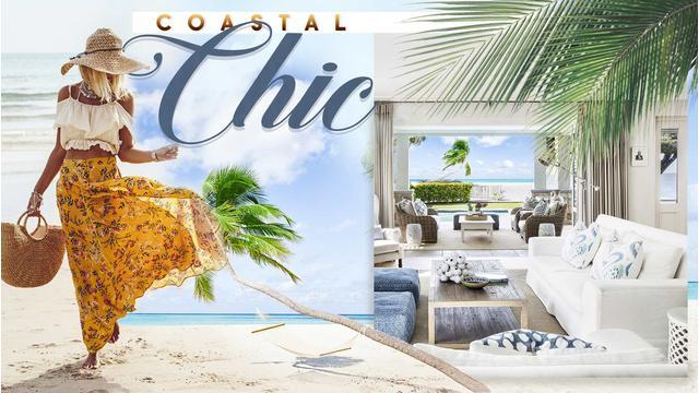 De luxe strandhuisstijl