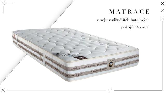 Pohodlné matrace