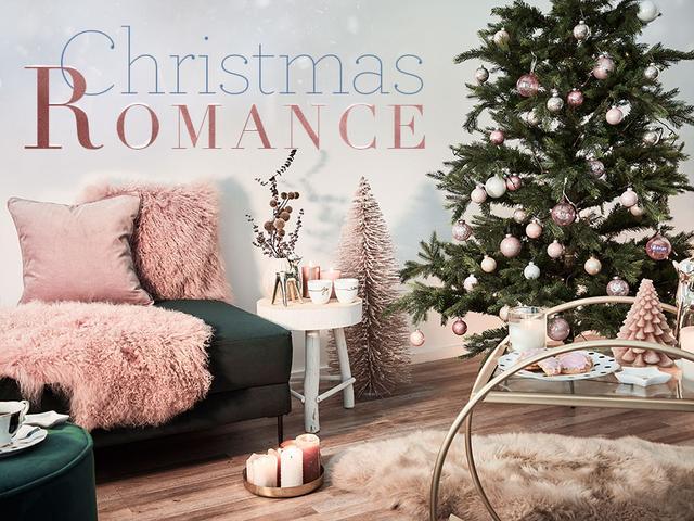 Weihnachts-Romantik in Rosé