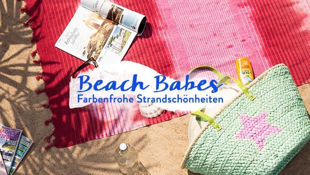 Stylishe Strandbegleiter
