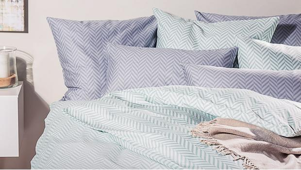 Klassisch-moderne Bettwäsche