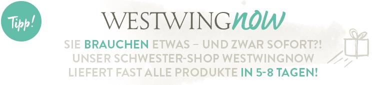 COP Footer WestwingNow - schnelle Lieferzeiten